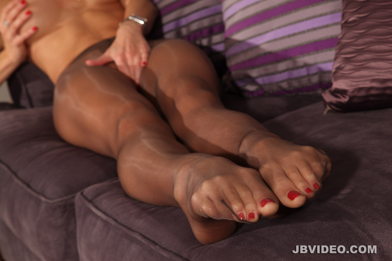 stocking feet